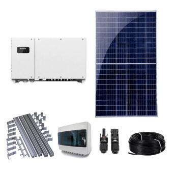Купити Сонячна електростанція 30 кВт категорії Економ в магазині Генерація за 19462 $