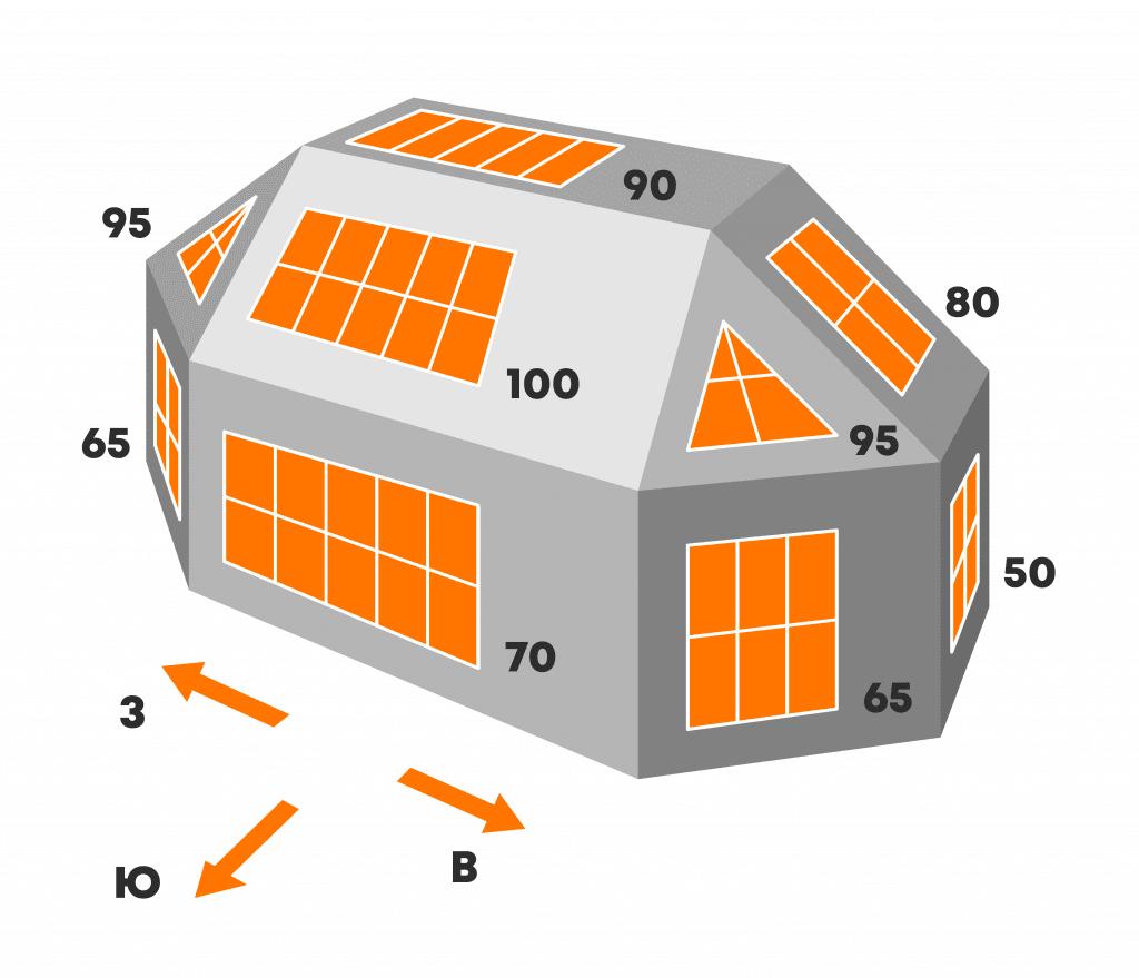 Крыша под СЭС