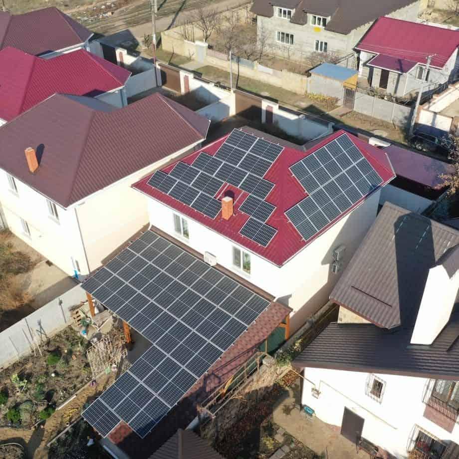 Мережева сонячна станція 17 кВт