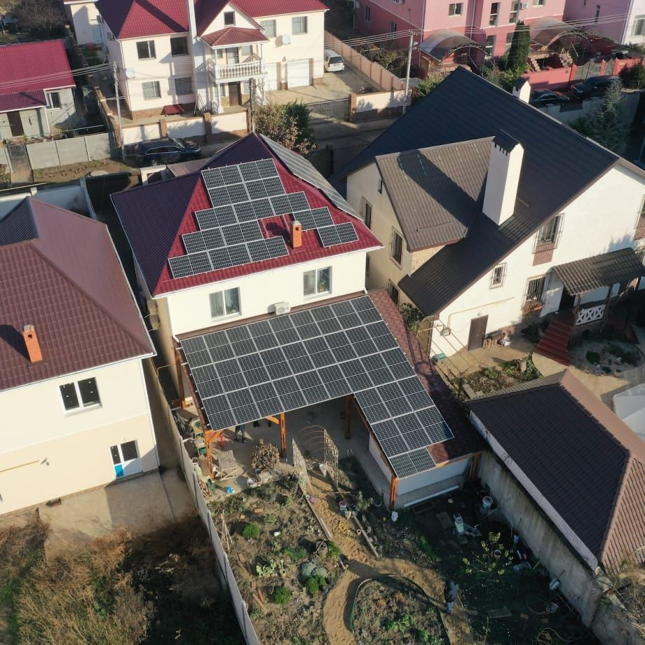 Мережева сонячна станція 17 кВт під зелений тариф, c. Лиманка