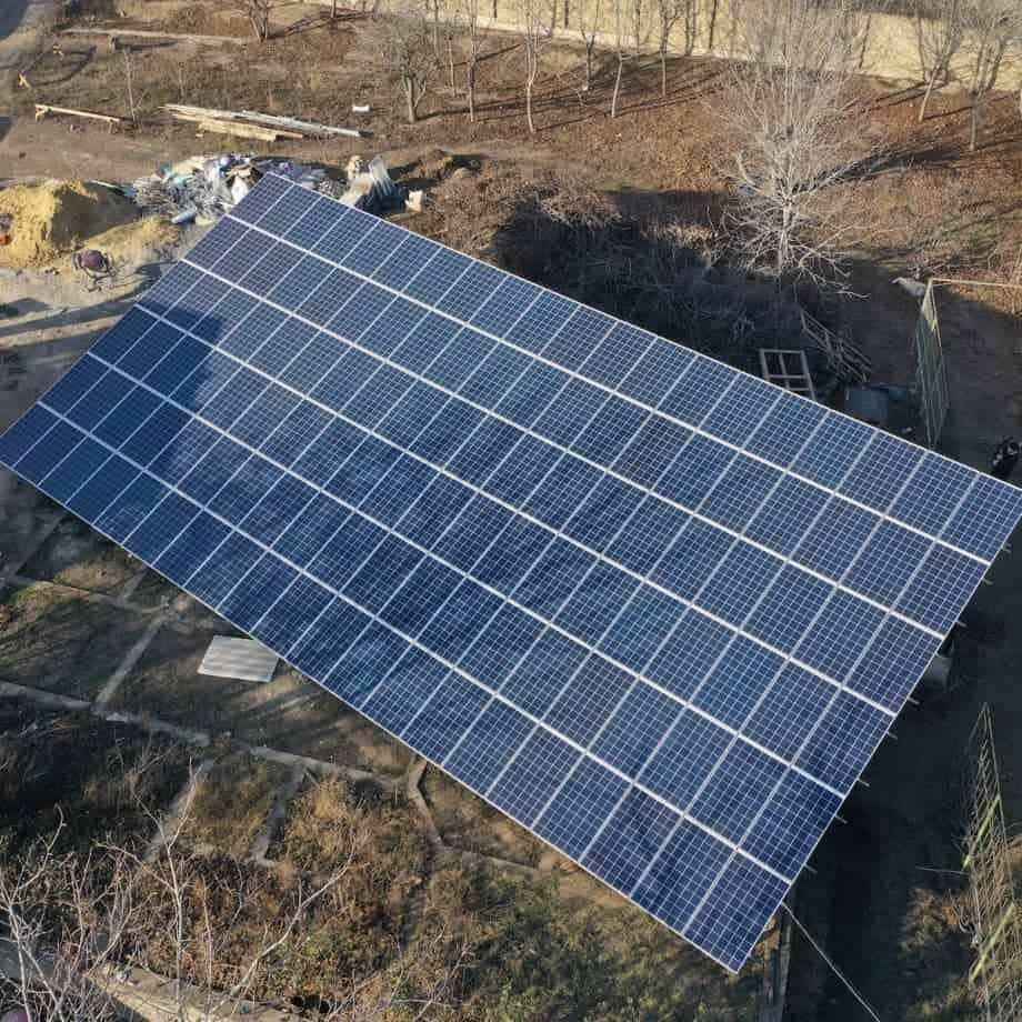 Снячна станція 30 кВт під зелений тариф, c. Усатово