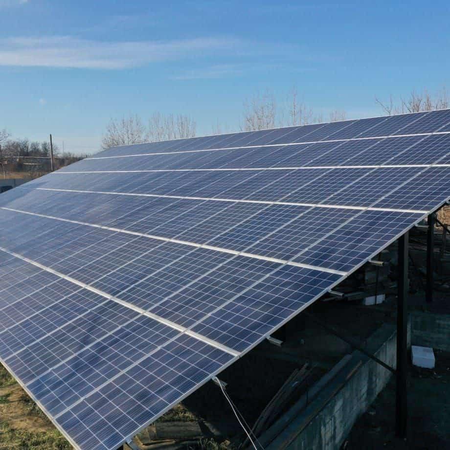 Мережева сонячна станція 30 кВт під зелений тариф, c. Усатово