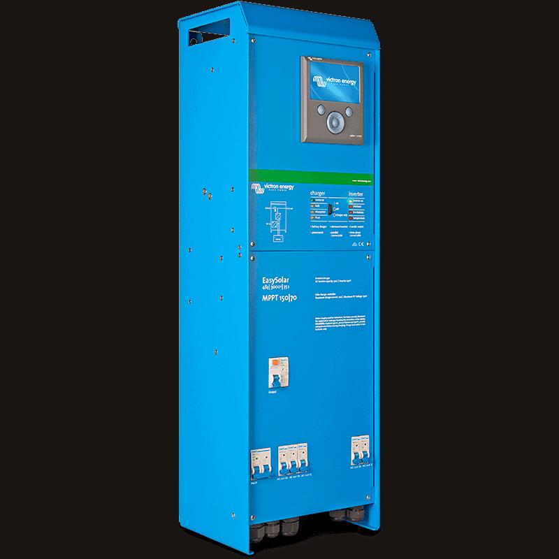 Купити Гібридний інвертор Victron Energy EasySolar 12/1600/70 в магазині Генерація за 1654 $