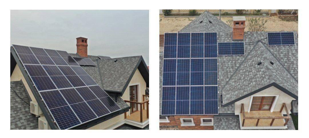 Домашняя солнечная электростанция