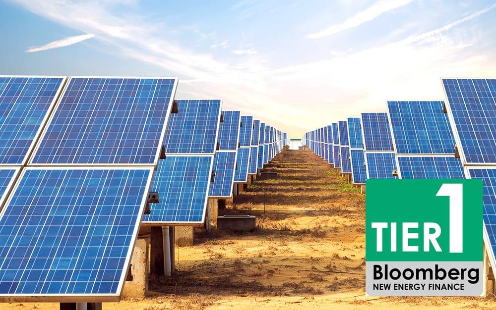 Китайський виробник сонячних батарей Jetion Solar в списку Tier-1