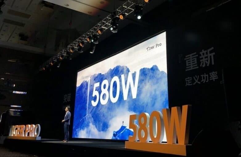 В мае разработчики запустили новую линейку, входящую в серию Tiger Pro и обладающую еще большей мощностью – уже 580 Вт.