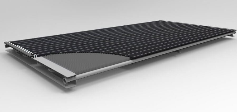 Производитель сообщает, что покупка солнечной панели Triple Solar вместе с теплообменником обойдется в 1000 евро (в стоимость учтена установка устройства)